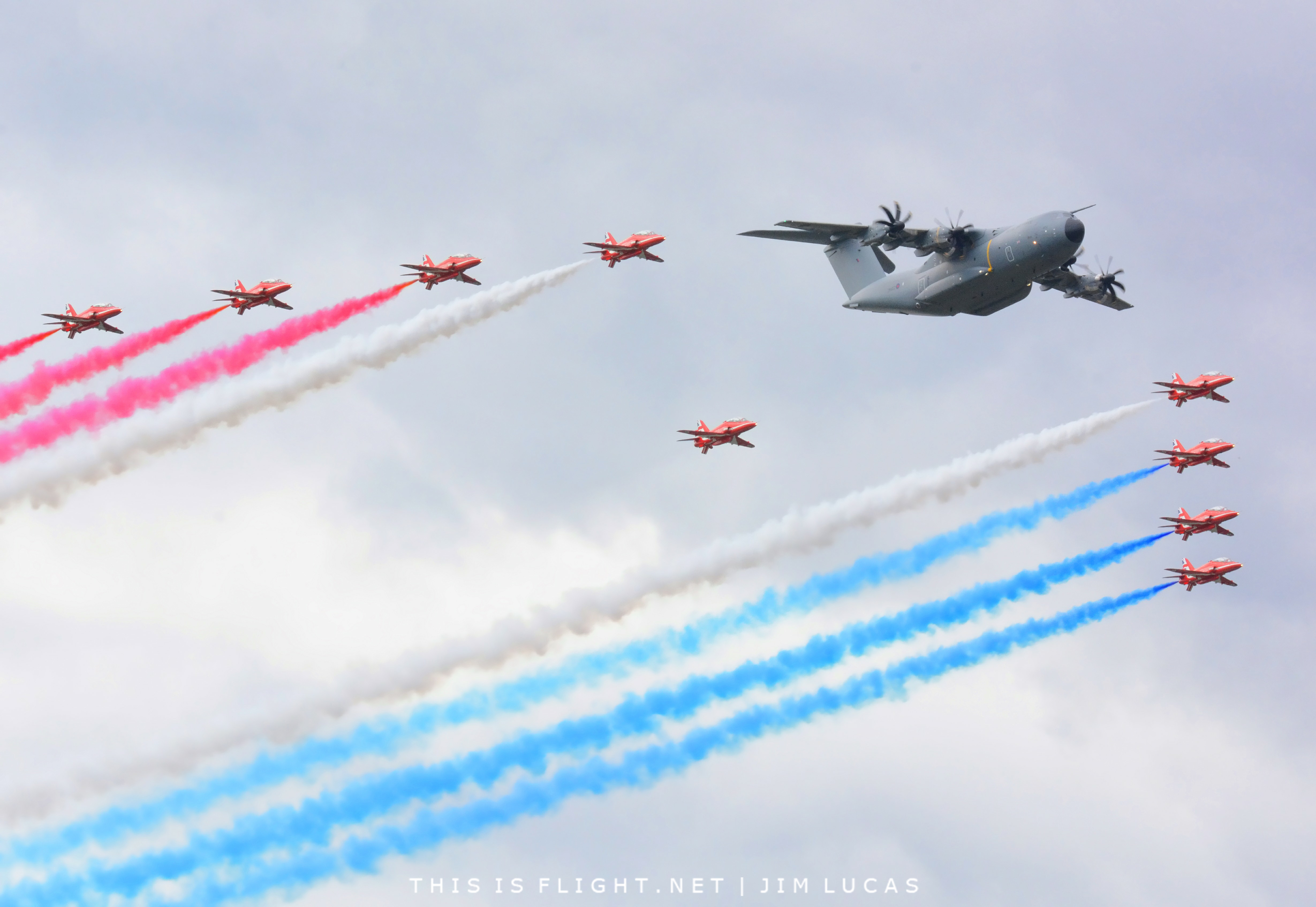 will not attend airshow
