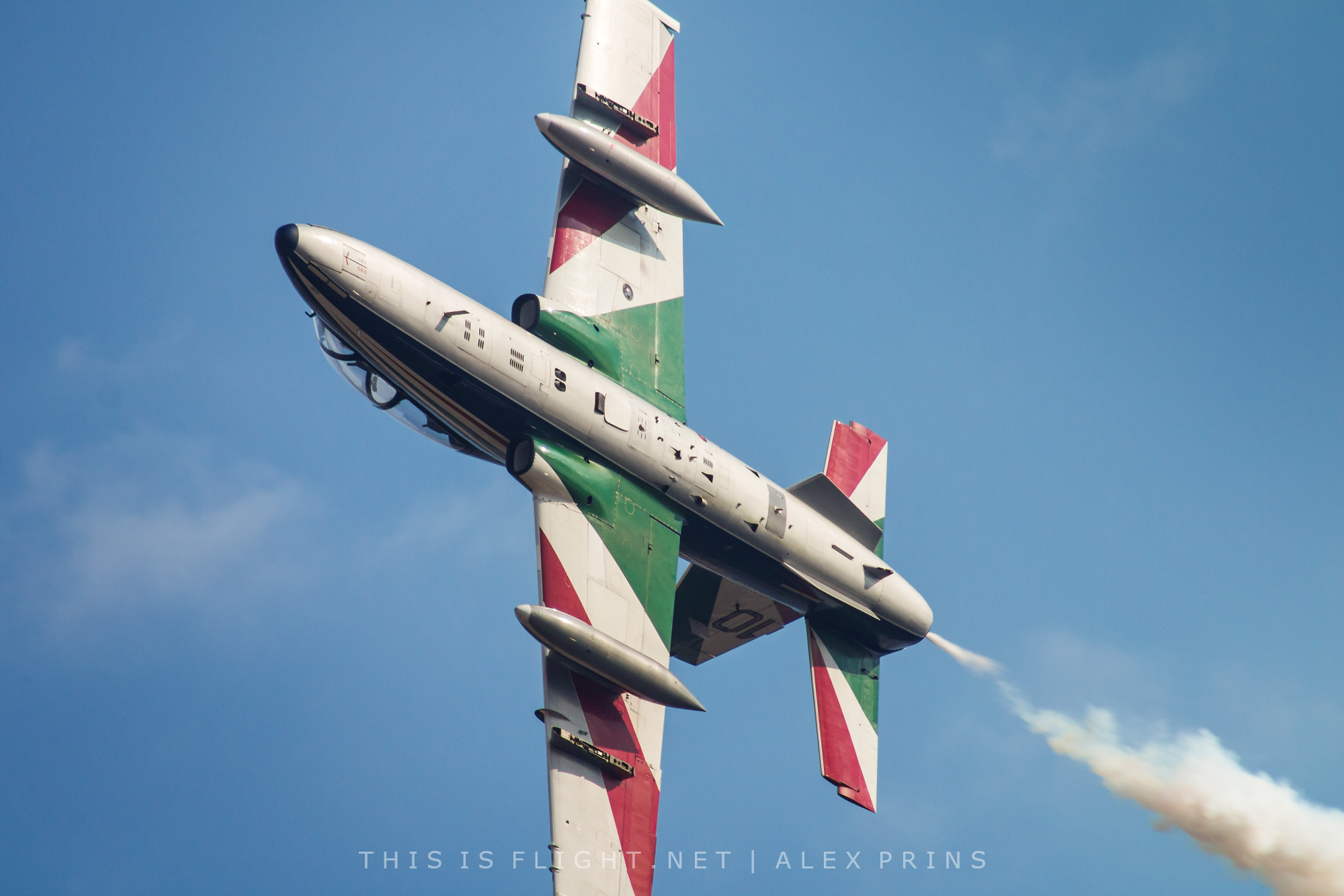 Frecce Tricolori's 60th anniversary season to end with international airshow at Rivolto