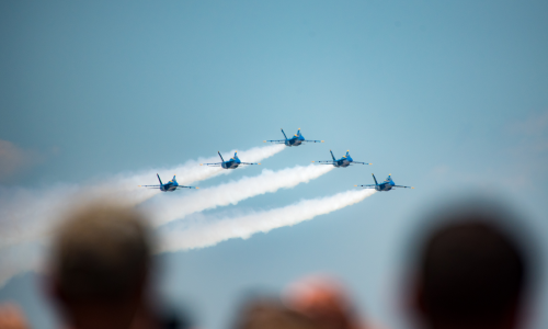 Blue Angels parallax