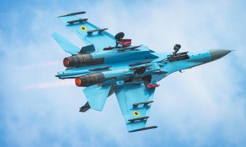 UkrAF Su-27P Flanker 4